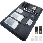 SIM Card Holder Case With Memory Card Reader