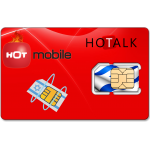Prepaid Hot Mobile 4G SIM Card