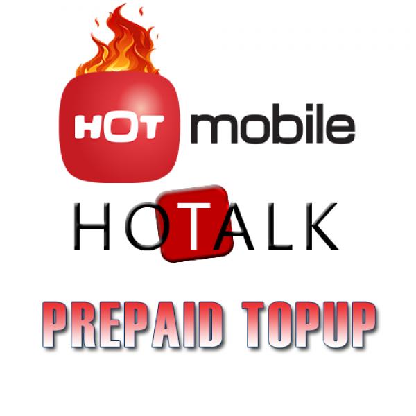 Topup Hot Mobile Israel Prepaid Sim Card Recharge Sim