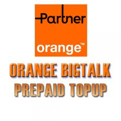 TopUp Orange Partner Prepaid Israel SIM > Recharge SIM Online