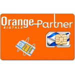 Prepaid Orange Partner SIM Card