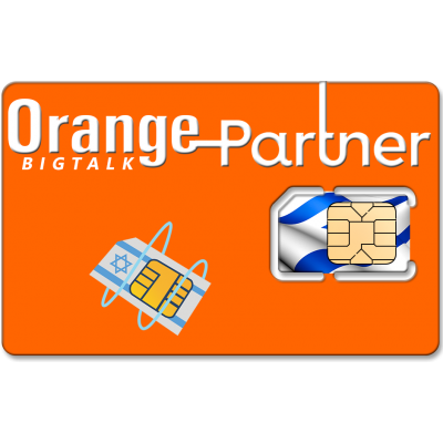 Prepaid Orange Partner 4G SIM Card